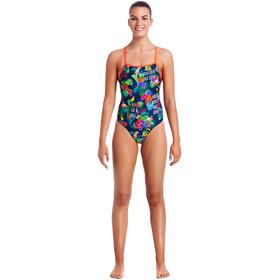 Funkita Tie Me Tight One Piece Swimsuit Damen tropic tag